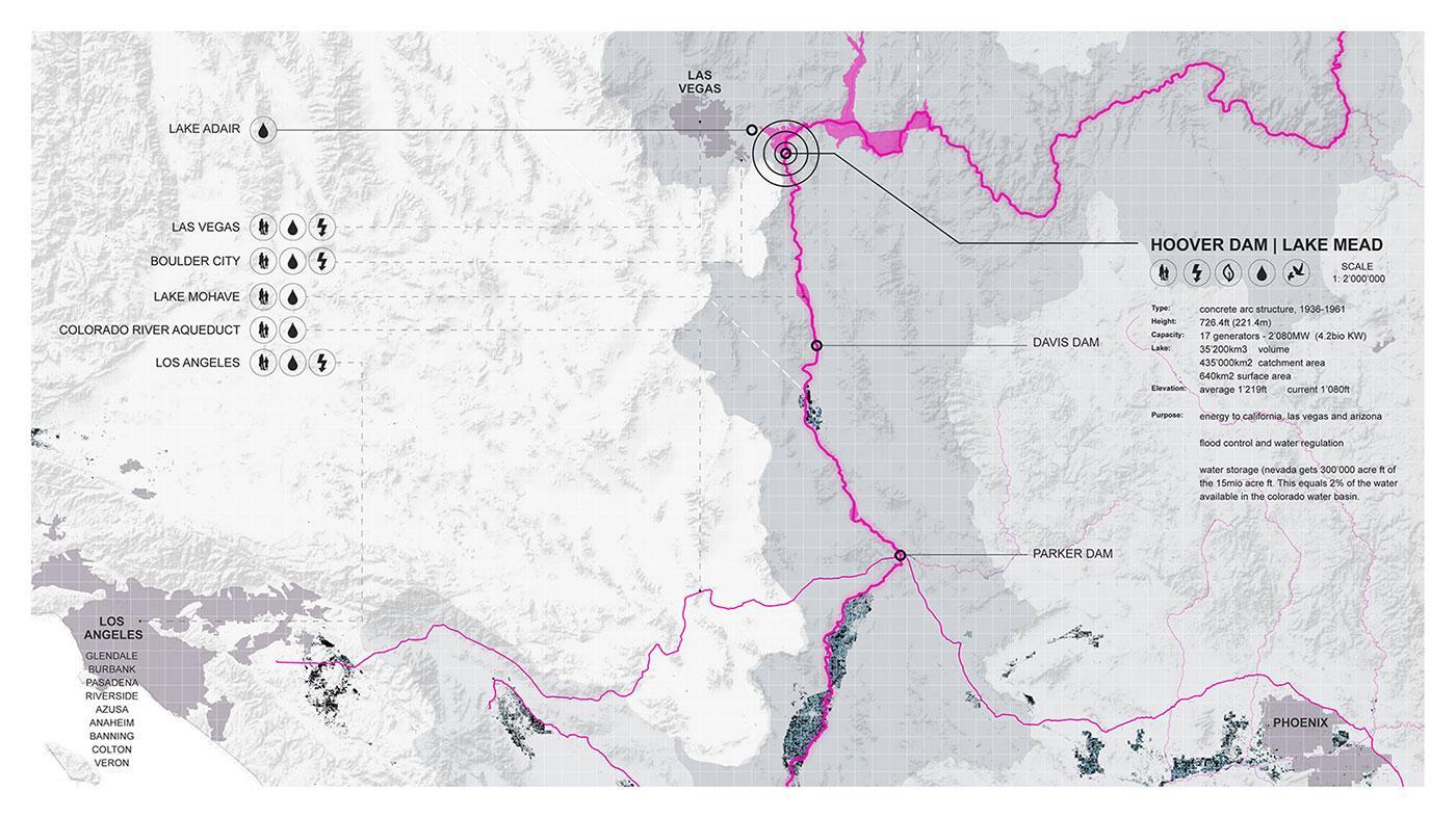 Lower Colorado Basin – Hoover Dam