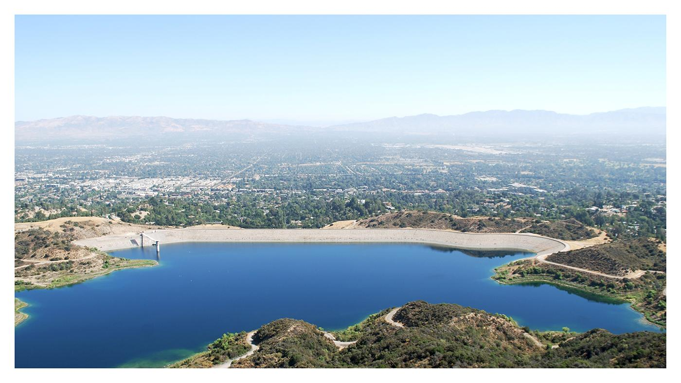 Water Reservoir, Los Angeles