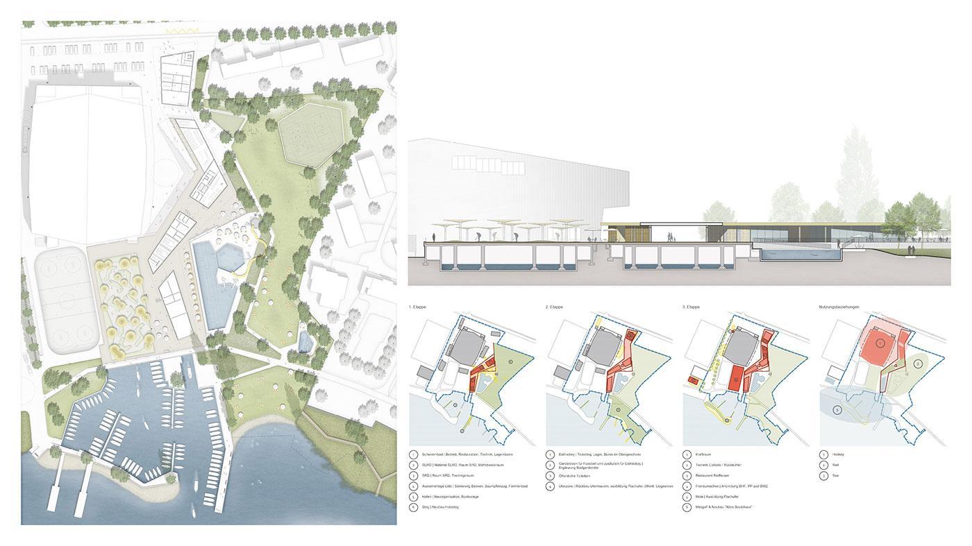 Illustrative Site Plan & Phasing Diagrams