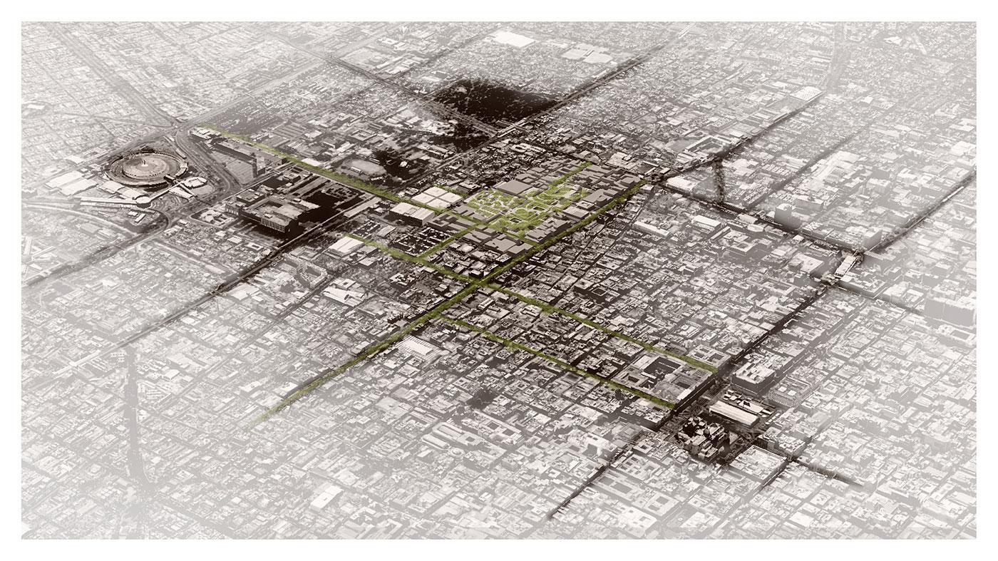 La Merced Marke, a Green Connection between East & West