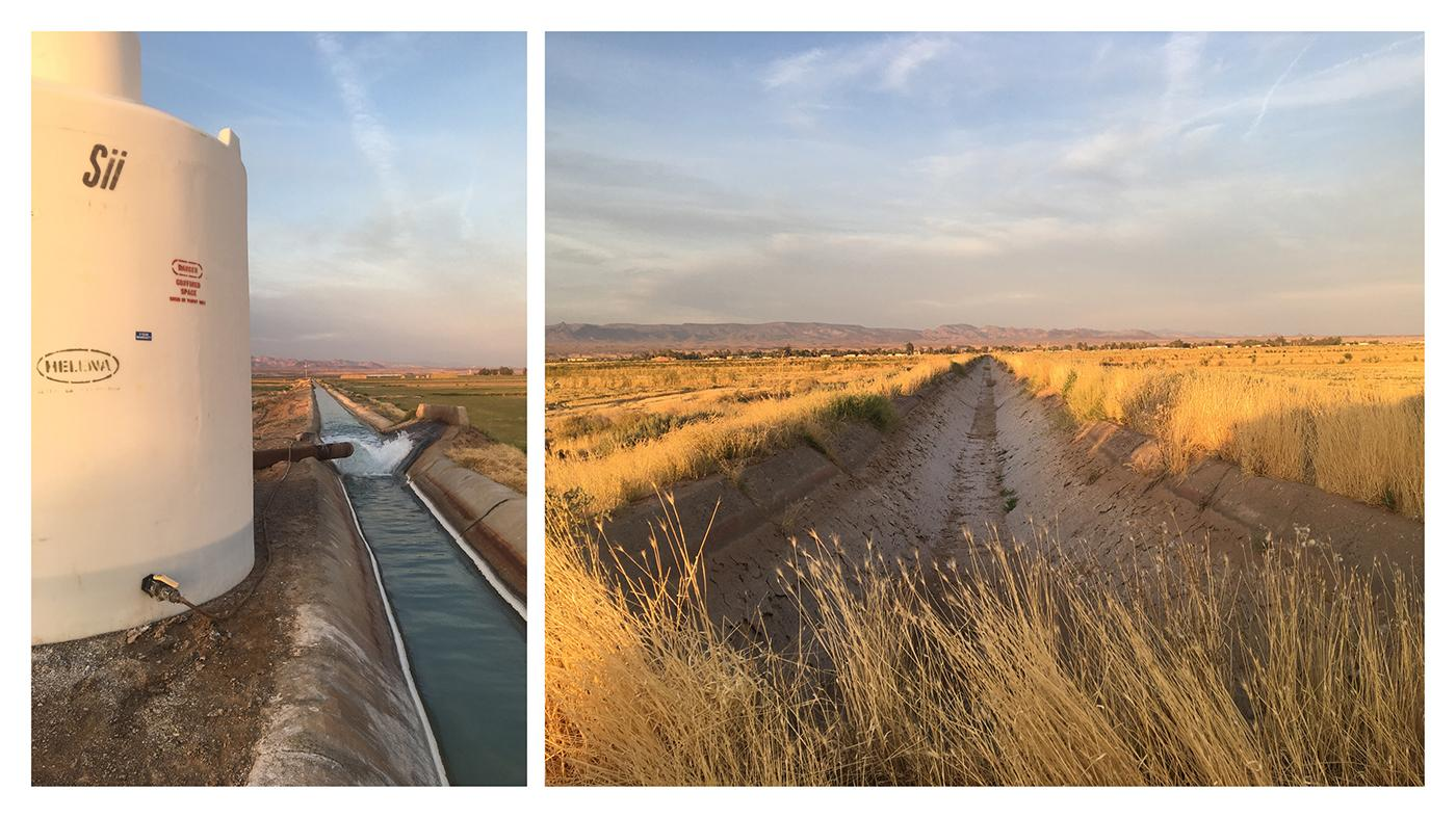 Irrigation Canals at Mohave Valley