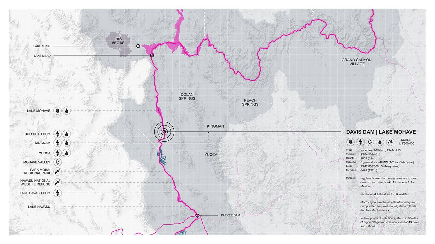 Lower Colorado Basin – Davis Dam
