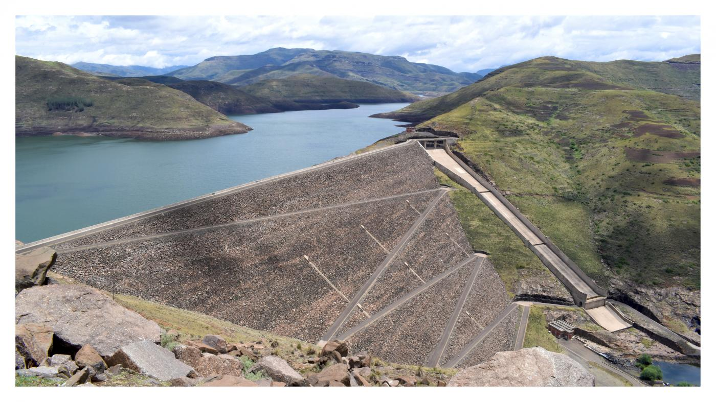 The Lesotho Highlands Water Project - Mohale Dam