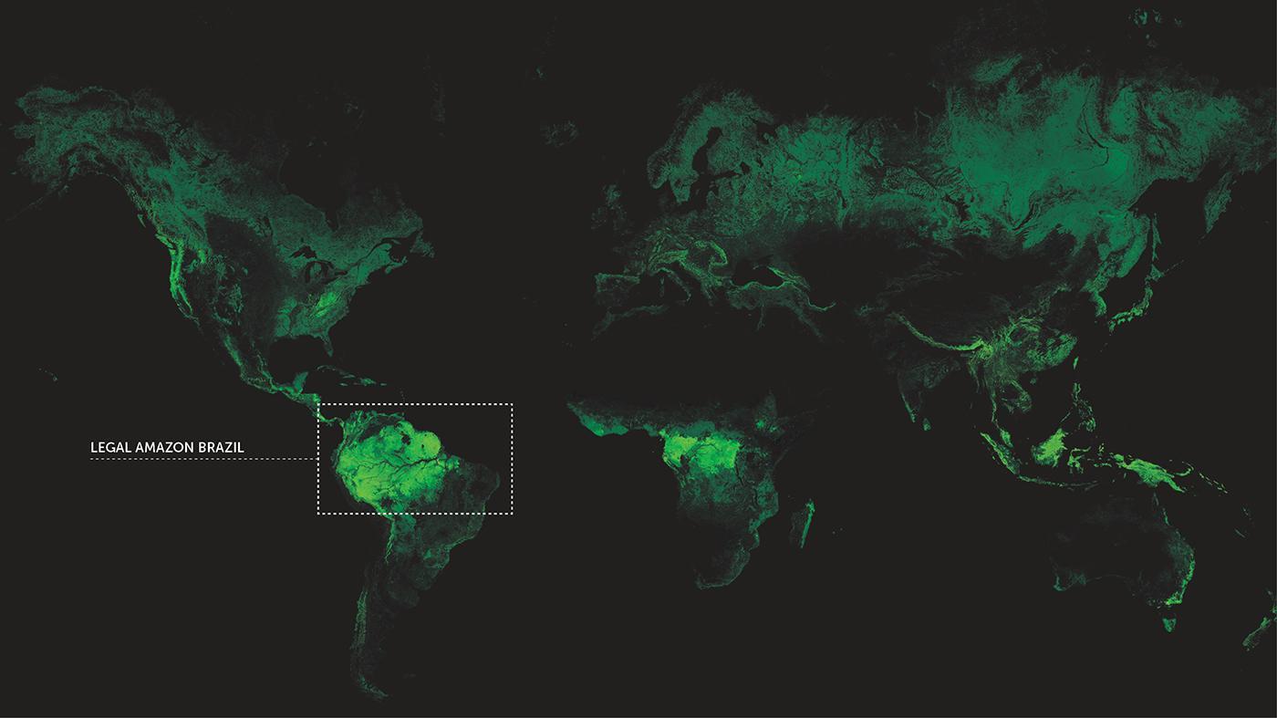The Production of Amazonia – Legal Amazon, Brazil
