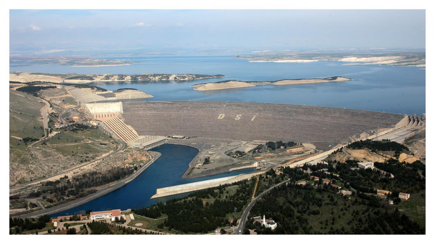 Southeastern Anatolia Prooject (GAP) - Atatürk Dam
