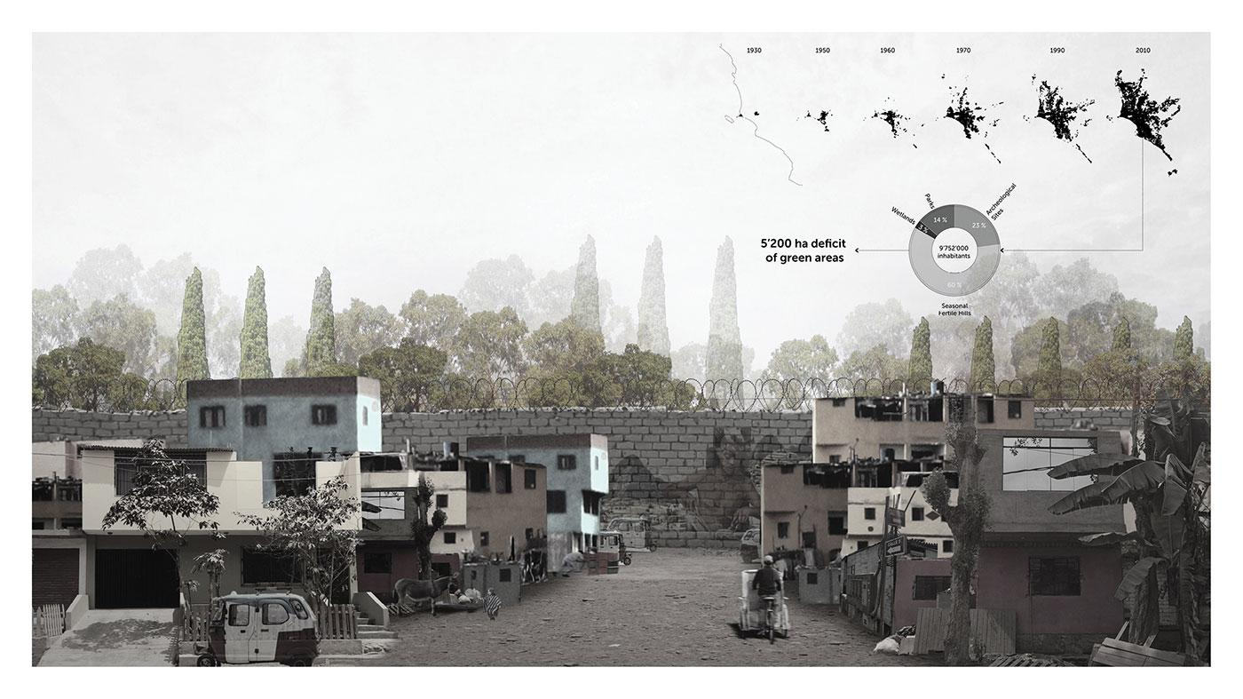 Collaging Lima's Lack of Open Spaces
