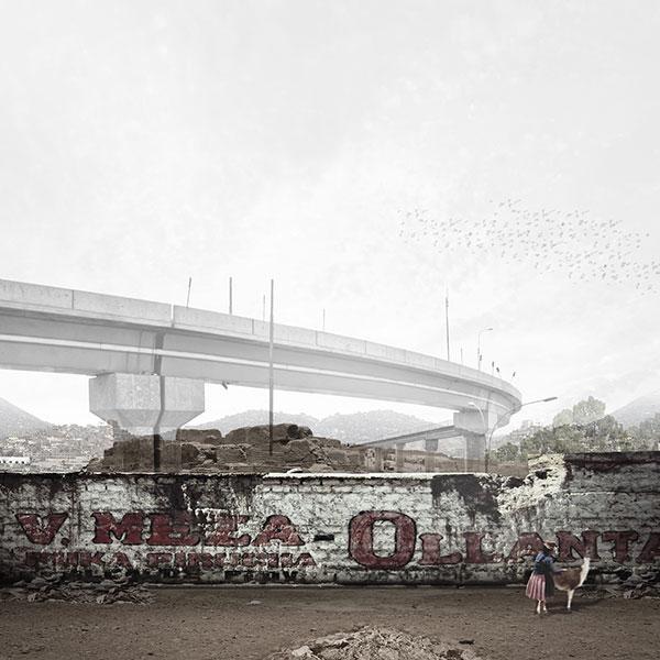 Collage of Urban & Cultural Boundaries