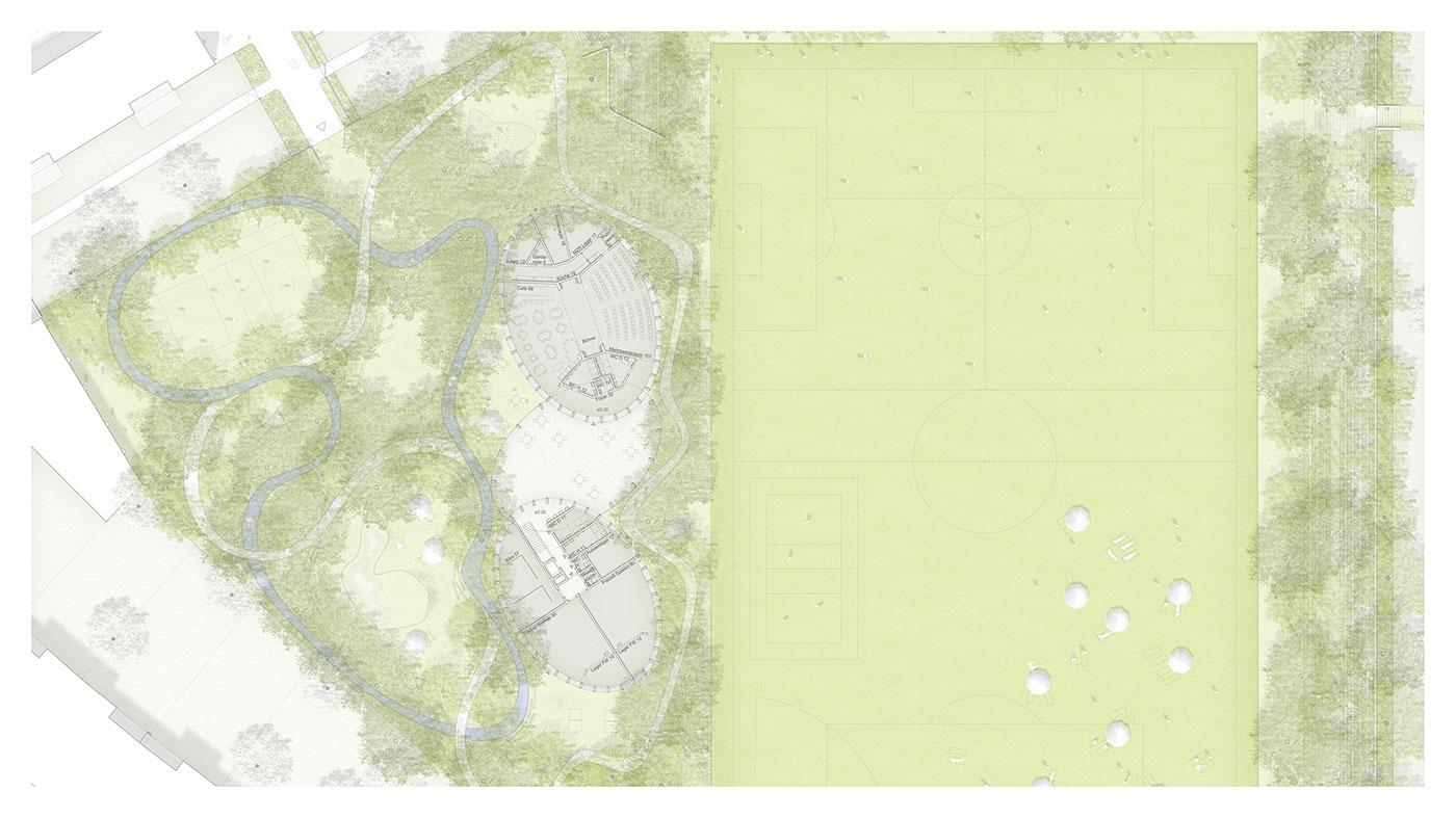 Illustrative Site Plan (Openness & Enclosure)