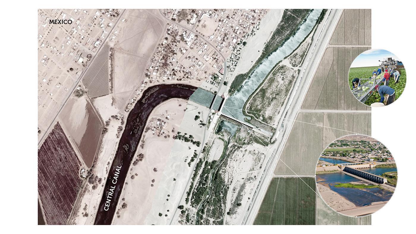 Morelos Dam at the U.S. – Mexican Border