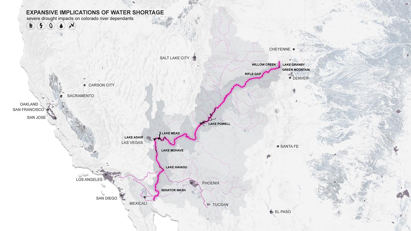 Tracing the Colorado River – American Southwest, USA