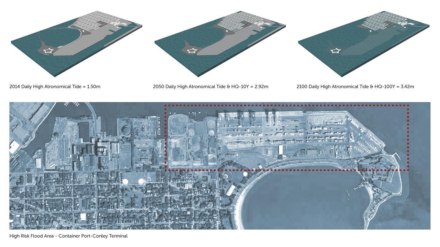 Flood Risk Map & Study Site