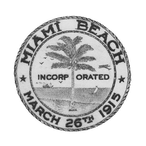 Miami Beach, Incorporated March 26th, 1915